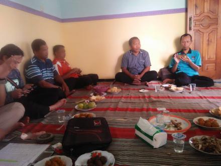 Arisan Rutin Persatuan Perangkat Desa Indonesia (PPDI)  Kecamatan Pule