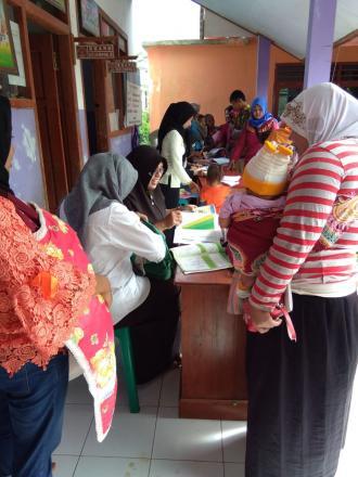 Giat Posyandu Dusun Krajan Desa Puyung