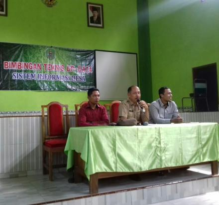 Bimbingan Teknis Up Data Sistem Informasi Desa
