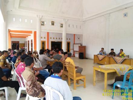 Pembentukan Panitia Penjaringan Calon Anggota BPD Desa Puyung Masa Bakti 2020-2026