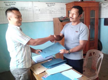 Pendaftaran Bakal Calon Kepala Desa Puyung